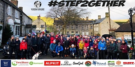 #step2gether virtual Christmas walking meet-up supporting FareShare charity tickets