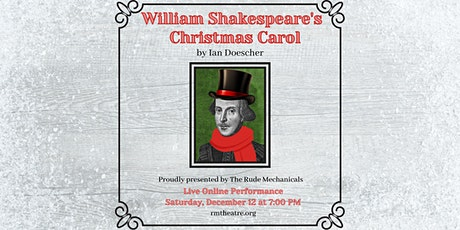 William Shakespeare's Christmas Carol, by Ian Doescher tickets