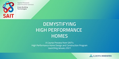 Demystifying High Performance Homes - Part 1 tickets