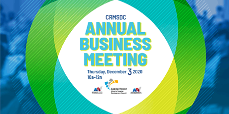 CRMSDC's 2020 Annual Business Meeting