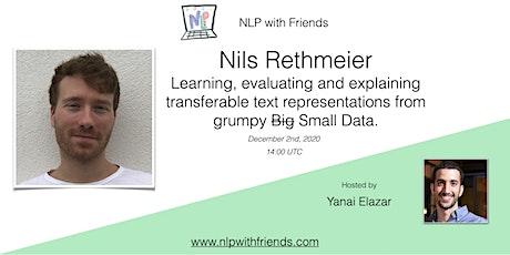 NLP With Friends, featured friend: Nils Rethmeier tickets
