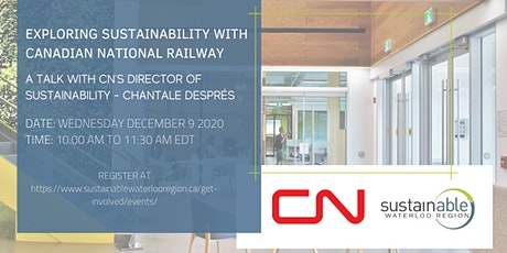 Exploring Sustainability with Canadian National Railway tickets