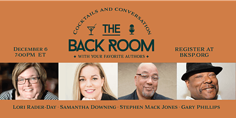 Lori Rader-Day, Samantha Downing, Stephen Mack Jones, and Gary Phillip tickets