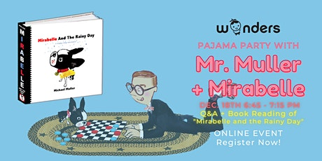 Pajama Party w/the author -  Michael Muller + Mirabelle tickets