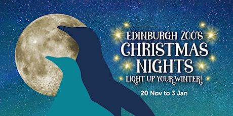 Edinburgh Zoo's Christmas Nights - 21st December tickets