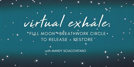 Gemini Full Moon Breathwork Circle tickets