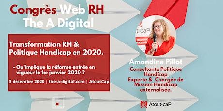 Transformation Handicap & RH - Amandine Pillot - AtoutCap billets