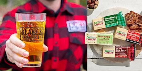 Blake's Hard Cider & Cabot Cheese Tutored Tasting