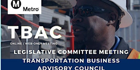 TBAC Legislative Committee Meeting - WEB BASED / ONLINE MEETING ONLY tickets