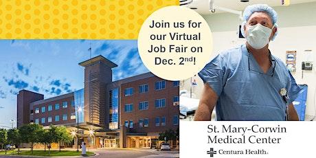 St. Mary-Corwin Medical Center's Virtual Job Fair! tickets