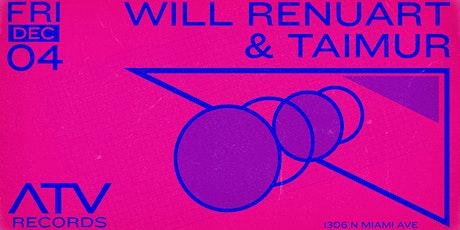 Will Renuart & Taimur tickets