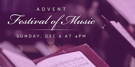 Advent Festival of Music tickets