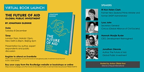 The Future of Aid: Global Public Investment BOOK LAUNCH tickets