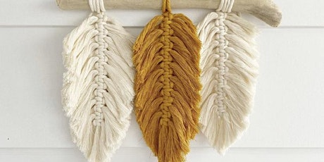Macrame Feather Wall Hanging tickets