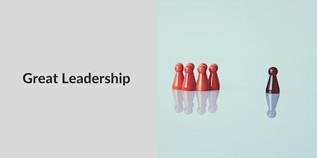 Great Leadership tickets