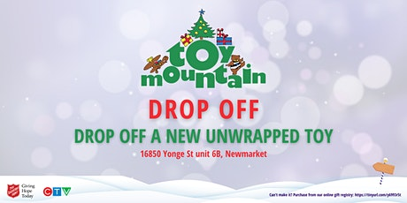 Toy Mountain Drop Off tickets