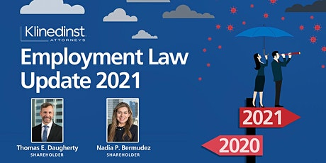 2021 Employment Law Update Webinar tickets