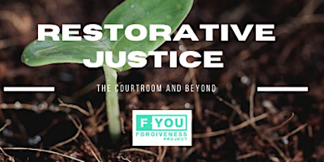 Look Both Ways: Restorative Justice; The Court Room and Beyond tickets