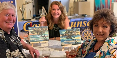 Paint & Sip Holiday Fundraiser tickets
