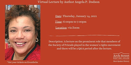 Virtual Lecture by Author Angela P. Dodson tickets