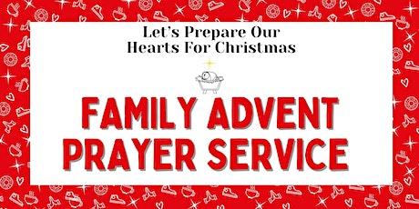 Family Advent Prayer Service tickets