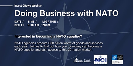Doing Business with NATO tickets