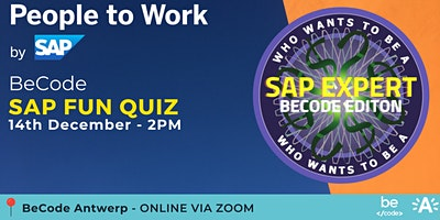 SAP FUN QUIZ – 14 December – BeCode Antwerp