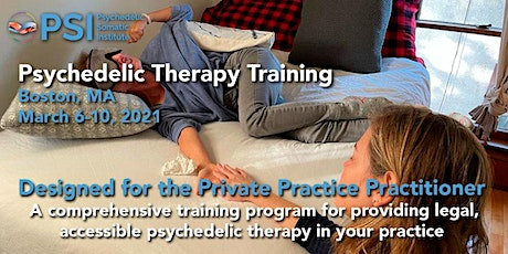 Psychedelic Therapy Training with PSI: Boston, MA tickets