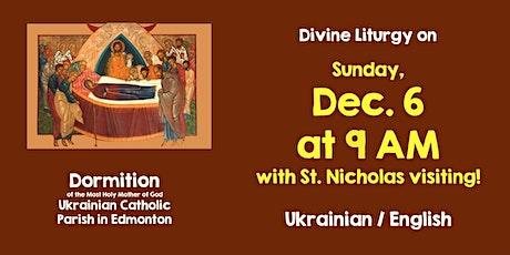 Divine Liturgy at Dormition December 6 (St. Nicholas Day) tickets