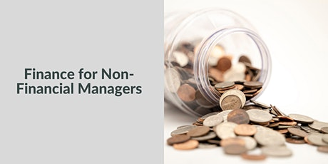 Finance for Non-Financial Managers tickets