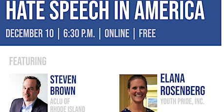 Hate Speech in America tickets