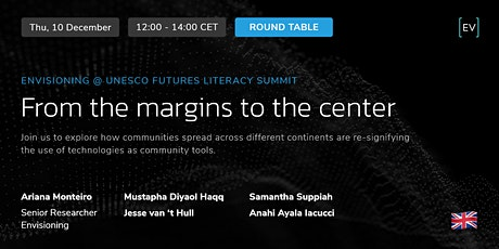 Round Table | From the margins to the center tickets