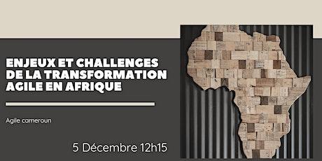 AGILE CAMEROUN : Enjeux et Challenges de la Transformation Agile en Afrique billets