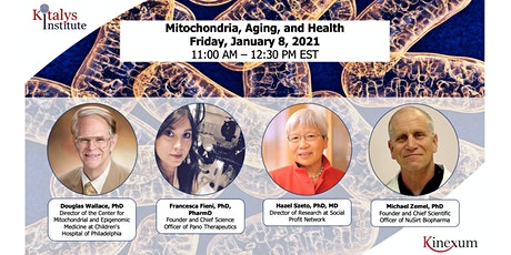 Mitochondria, Aging, and Health tickets