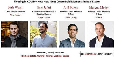Pivoting in COVID – How New Ideas Create Bold Moments in Real Estate tickets