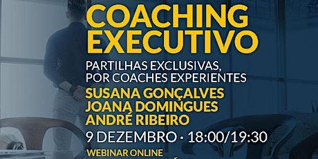 Webinar: desafios de coaches executivos experientes bilhetes