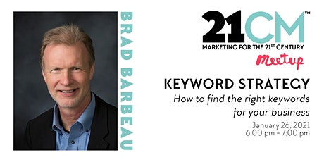 Monterey Digital Marketing Meetup Featuring Keyword Strategy tickets