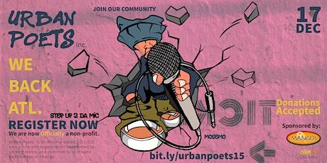 Urban Poets - Spoken Word & Open Mic tickets