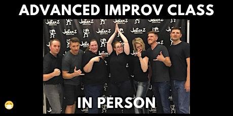 Improv Comedy Class - Level: Advanced tickets