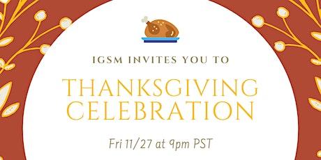 UCLA Thanksgiving Celebration tickets