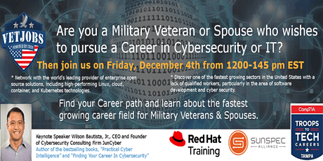 Finding Career Success in the Cybersecurity and IT Industries tickets