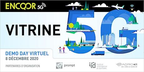 VITRINE 5G  | Démo day: à la rencontre de la 5G billets