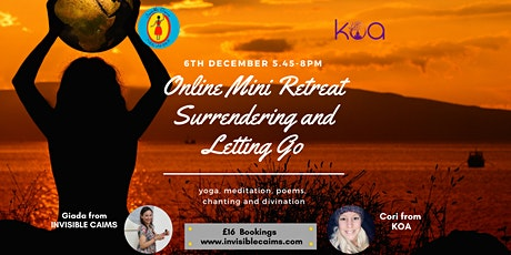 Mini Retreat: Surrendering and Letting Go - Yoga, Meditation, Divination tickets