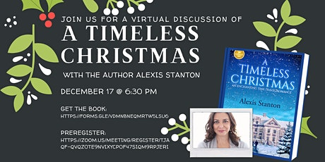 Book Discussion: A Timeless Christmas feat. Alexis Stanton tickets