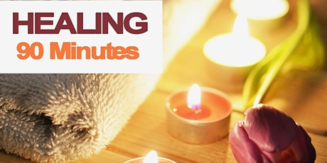 90 Min Healing Session Ultimate Relaxation for Wellness and Recovery tickets