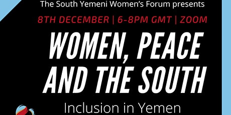 Women, Peace and the South: Inclusion in Yemen tickets
