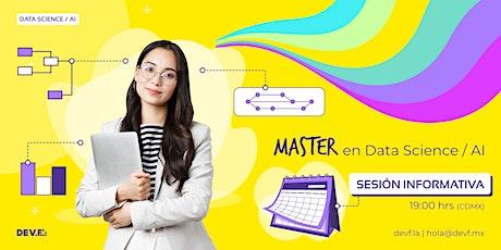 Sesión Informativa Master en Master en Data Science / AI 1-2 boletos