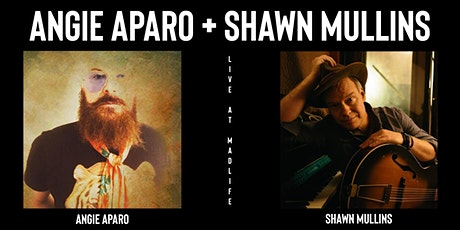 Shawn Mullins + Angie Aparo | SELLING OUT - BUY NOW! tickets