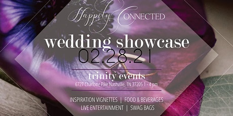 Happily Connected Wedding Showcase - Spring 2021 tickets