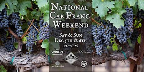 National Cabernet Franc Day Celebration tickets